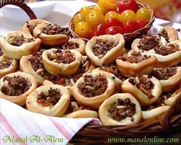 فطاير باللحم منال العالم Arabic Food Ramadan Recipes Food