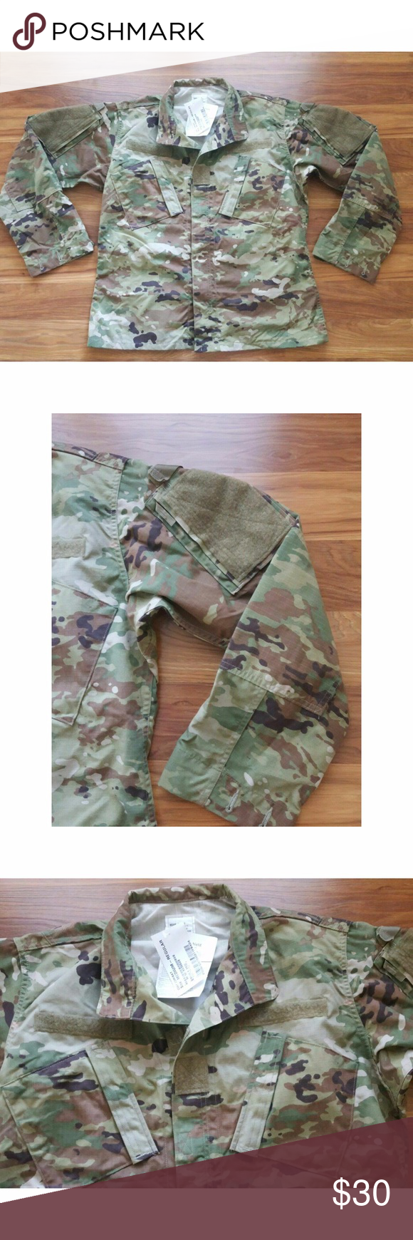 New With Tags Army Ocp Scorpion W2 Multicam Top M New With Tags Colorful Shirts Multicam