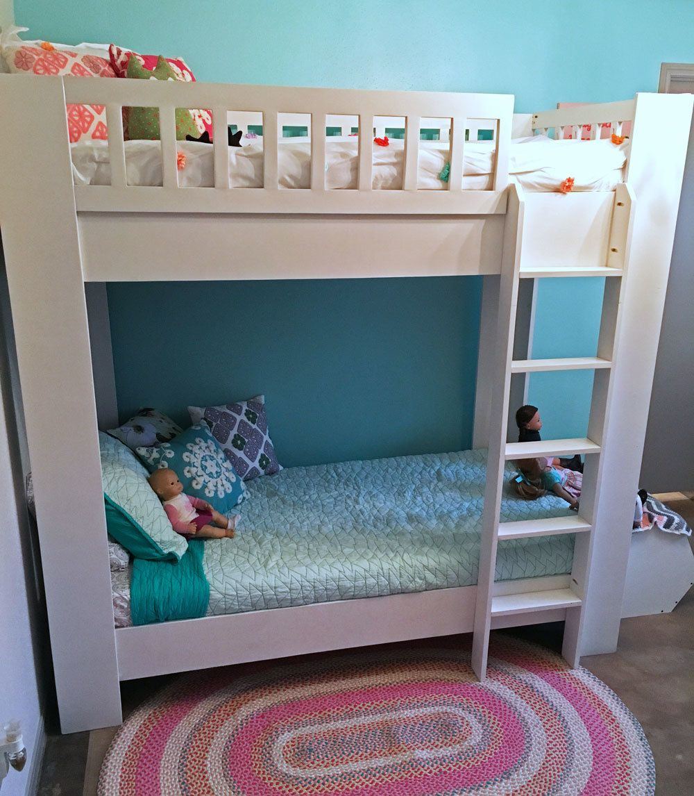 Rustic Modern Bunk Bed Bunk beds for girls room, Modern
