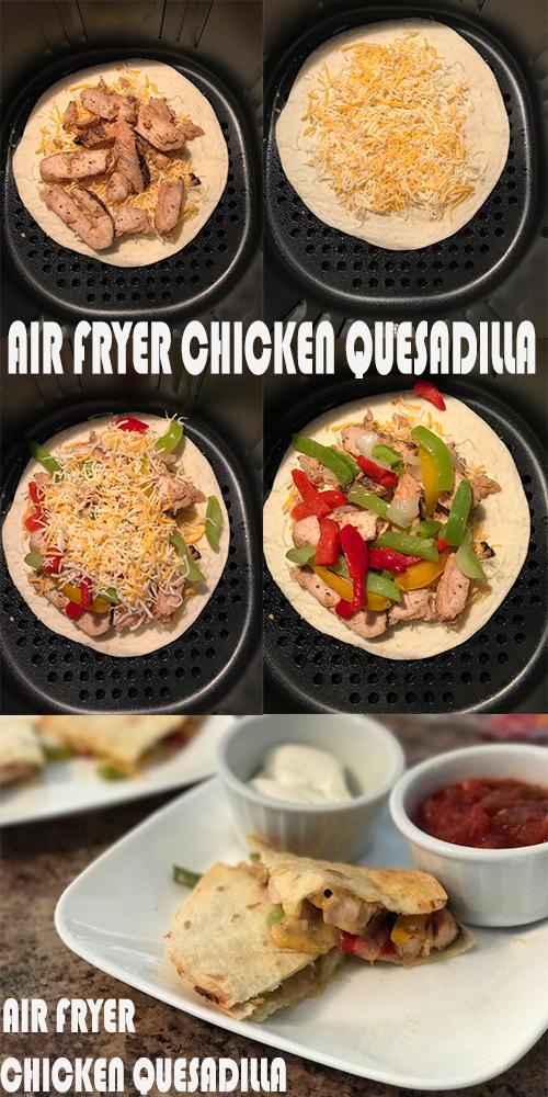 Photo of Air Fryer Chicken Quesadilla – Alles über gesunde Lebensmittel Rezepte – Alles über Gesundheit …
