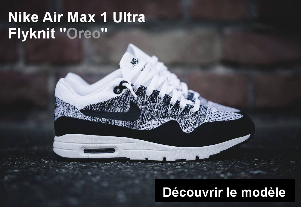 on sale 386b9 2d2dc nike air max 1 ultra flyknit oreo