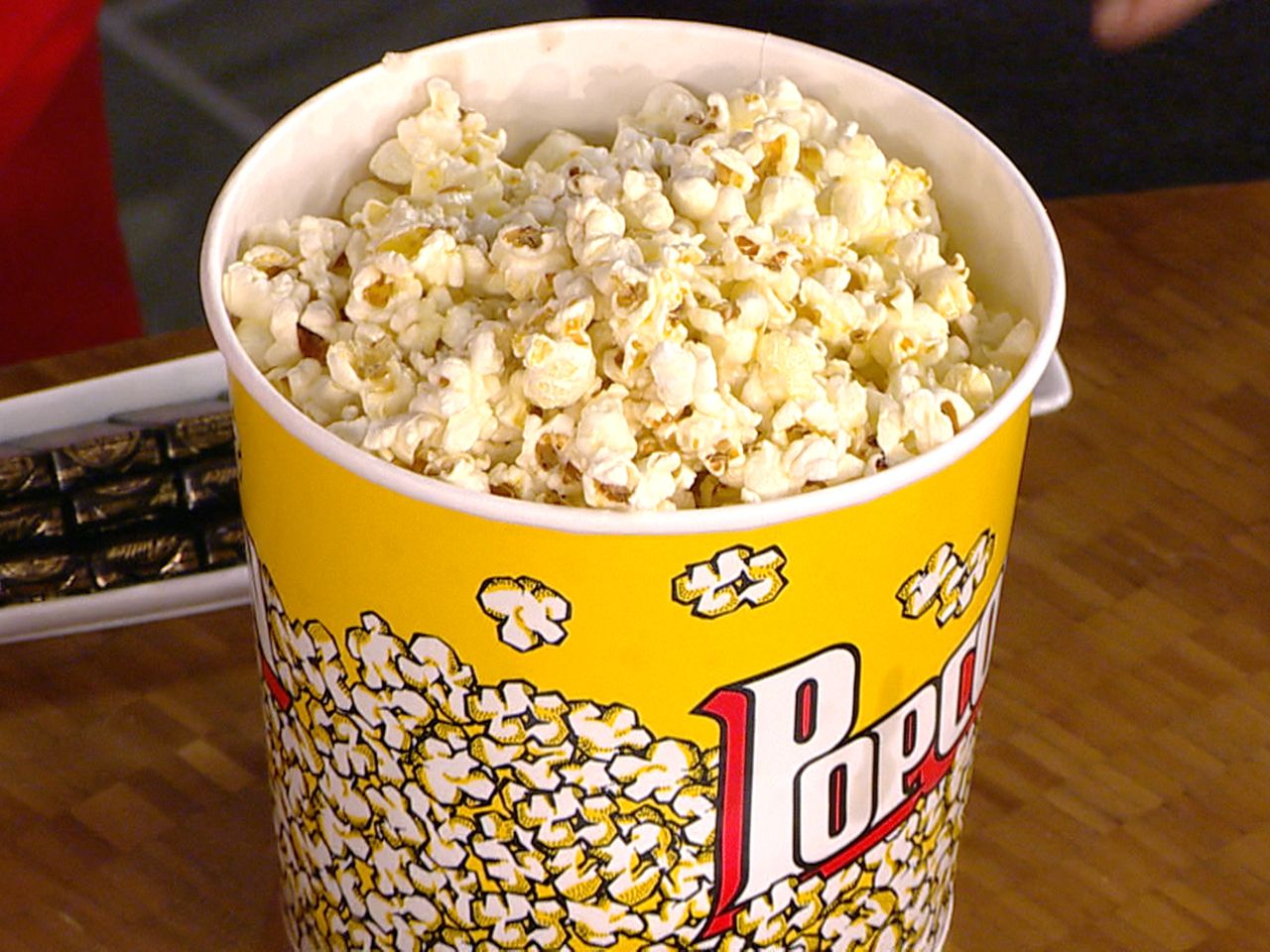Butter not! Movie popcorn contains whole stick
