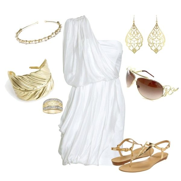 """Greek Goddess"" by rinergirl on Polyvore 