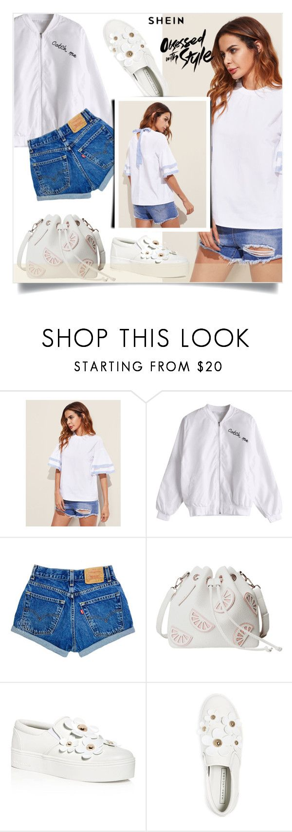 """""""Untitled #1855"""" by kriz-nambikatt ❤ liked on Polyvore featuring Marc Jacobs"""