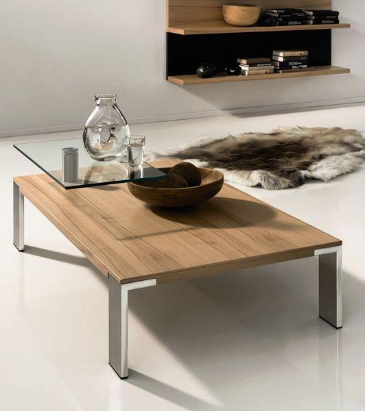 Coffee Tables Design Wood Top Metal Legs