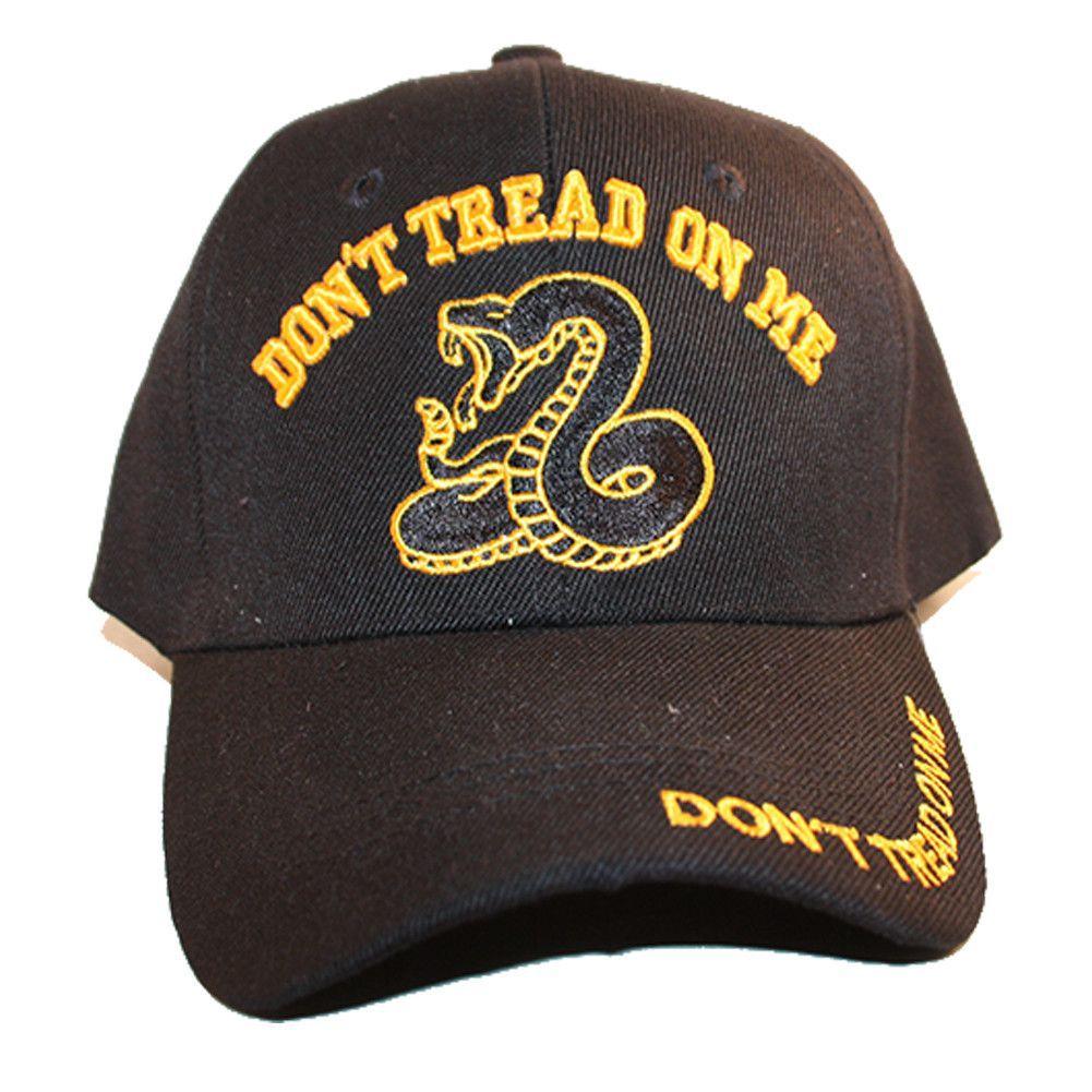 Loyal Cloth Don't Tread On Me Velcroback Patriot Cap