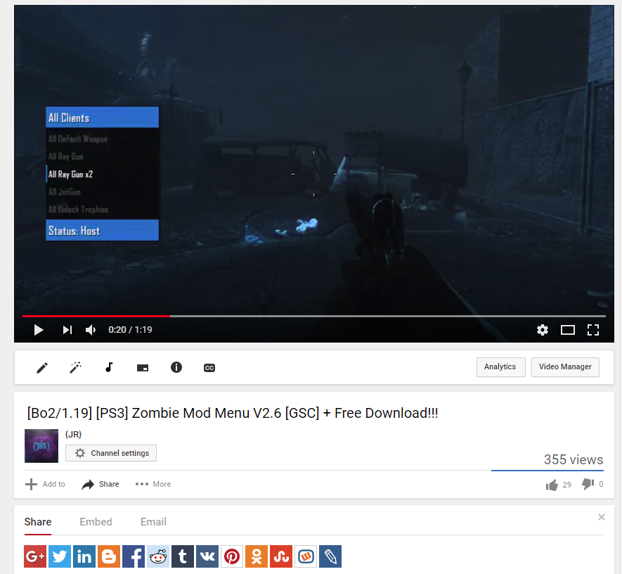 Bo2 Zombie Mod Menu | gaming | Games, Menu, Video games