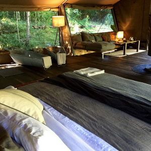 Qld Glamping Luxury Camping Brisbane Goldcoast Nightfall Camp