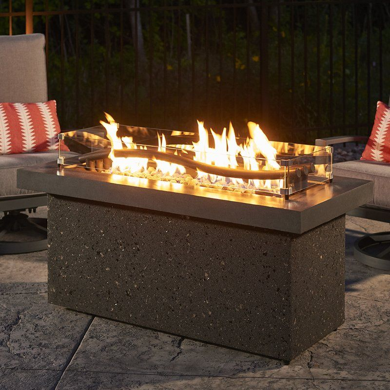The Outdoor Greatroom Company Boreal Complete Heat Linear Aluminum