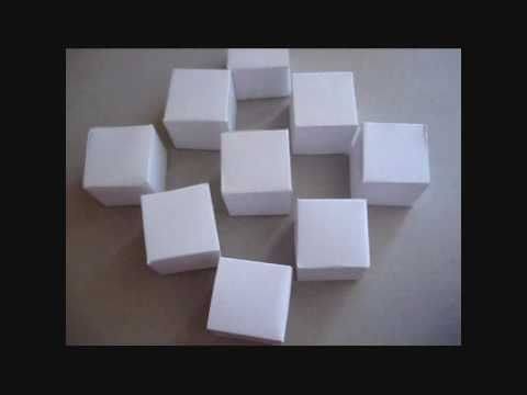 origami moving cubes instructions