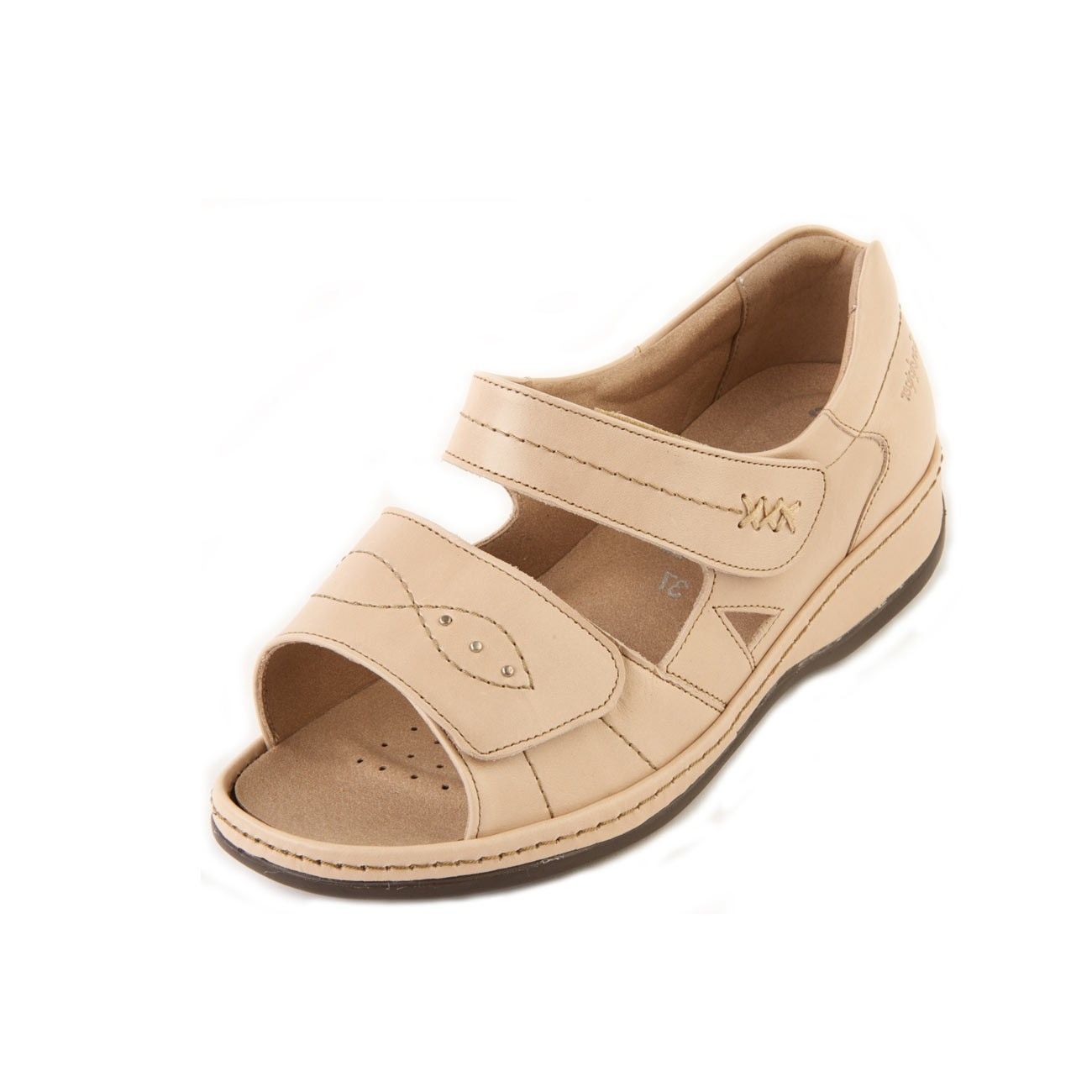 5ffab31510d Cilla Ladies Extra Extra Wide Sandal 6E - the support of the back-in heel