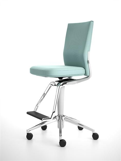 Vitra Id High Office Swivel Chair By Antonio Citterio Swivel Office Chair Chair Contemporary Office Chairs