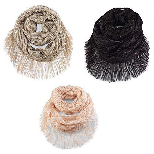 #MudPie Andie Sequin Infinity #Scarf  Price : $34.95 http://www.whimsicalumbrella.com/Mud-Andie-Sequin-Infinity-Scarf/dp/B00LC9TVG2 #whimsicalumbrella