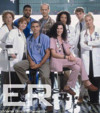 ER, Great tv drama, and the show that first introduced us to George, *sighs*