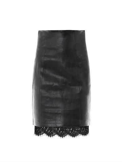LOVER Sphinx leather skirt A/W 13 by www.giulialoves.com