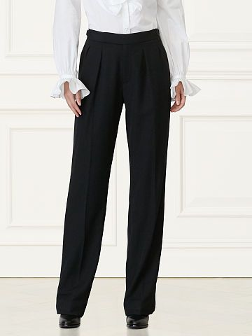 Harrison Pleated Tuxedo Pant - Collection Apparel Pants - RalphLauren.com