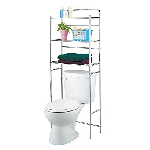 Tatkraft Tanken 3-Tier Bathroom Shelves Unit over Toilet ... https://www.amazon.com/dp/B00WOBWEL6/ref=cm_sw_r_pi_dp_tTwzxbYQ7B3JW