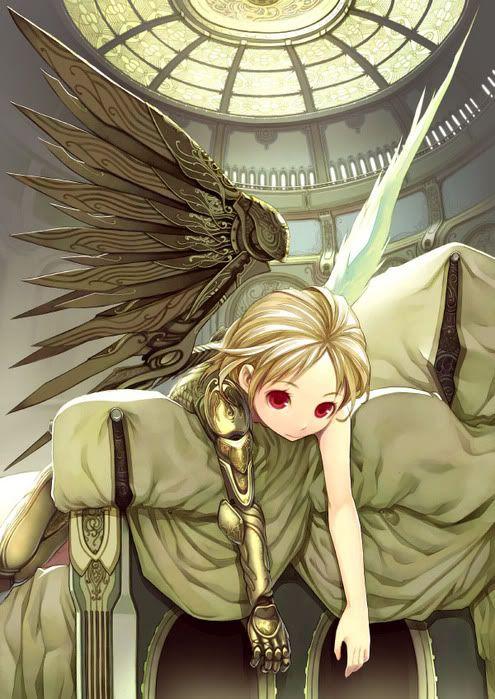 A Very Talented Steampunk Fan Drew This Steampunk Angel Gothic