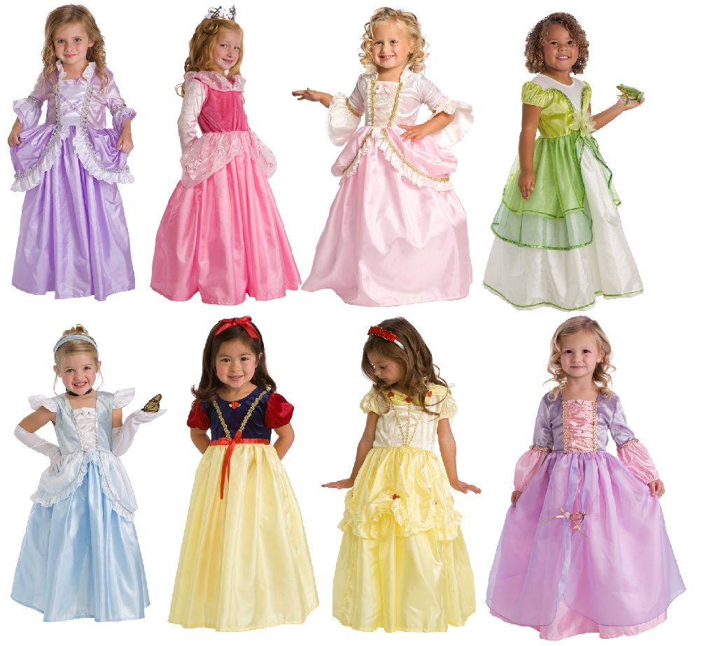 Princess Party 3 Dress Set | Dress up, Toys and Up costumes