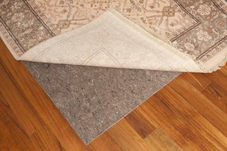 Amazon Com Durable Reversible 8 X 10 Premium Grip Tm Rug Pad For Hard Surfaces And Carpet Rug Pad Cool Rugs Area Rug Pad