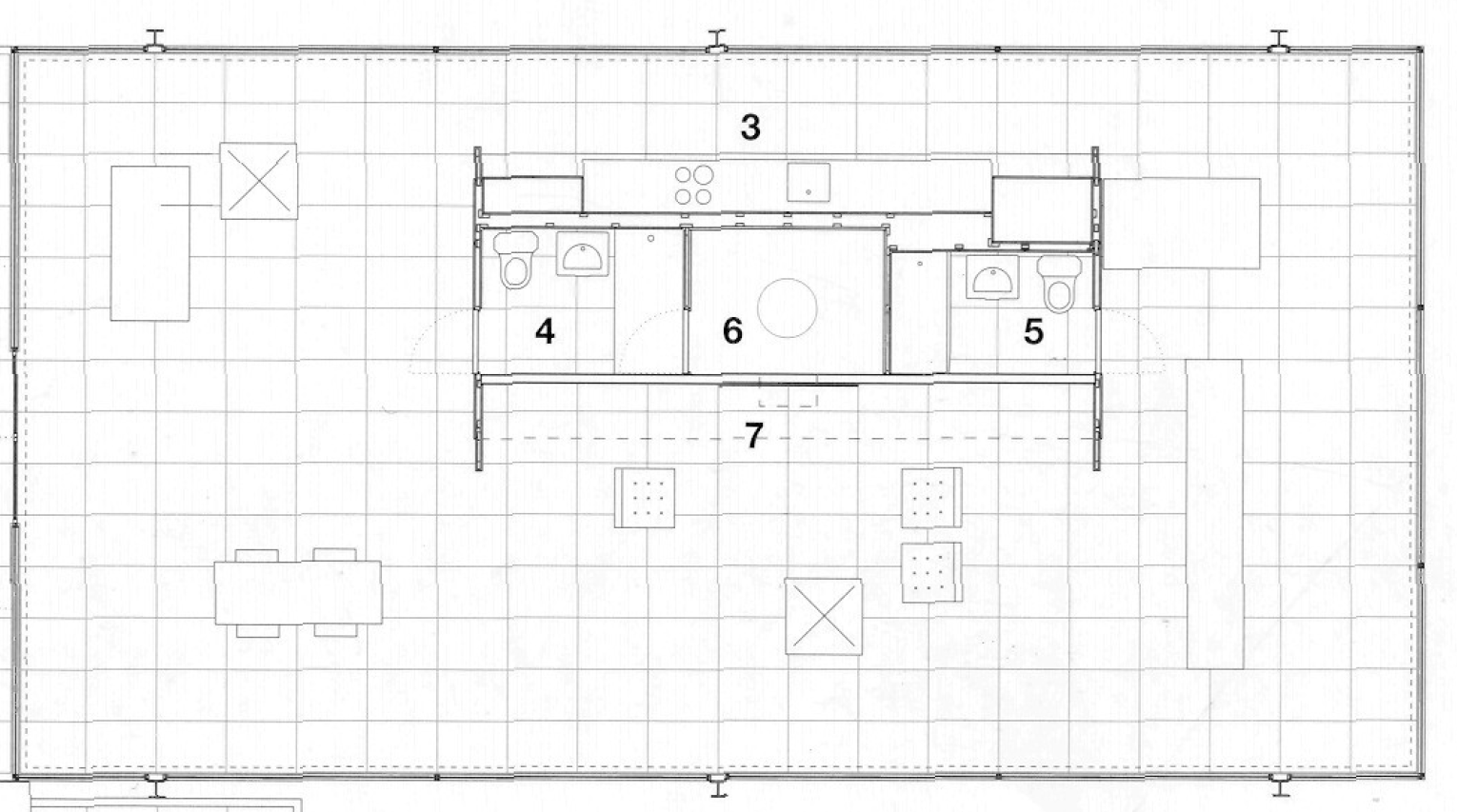 mies van der rohe floor plans google search floor plans pinterest farnsworth house. Black Bedroom Furniture Sets. Home Design Ideas