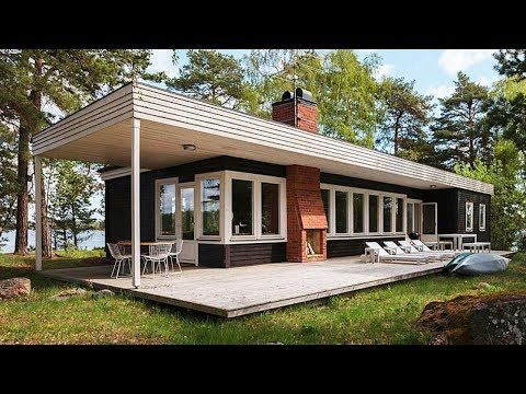 Mid-Century Modern Home In Sweden | Beautiful Home Design - YouTube ...