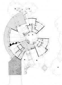 Elevation Plan Of Curvy House Ile Ilgili Gorsel Sonucu Diagram Architecture Environmental Architecture Unique Floor Plans