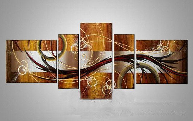 cuadros a mano leo sobre lienzo decoracin arte cuadros de oleo abstractos con marco de estirado