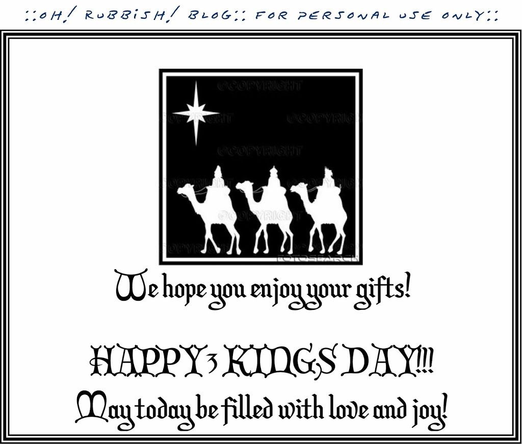 Kings Holiday Printable Letter  Los Reyes Magos Letter