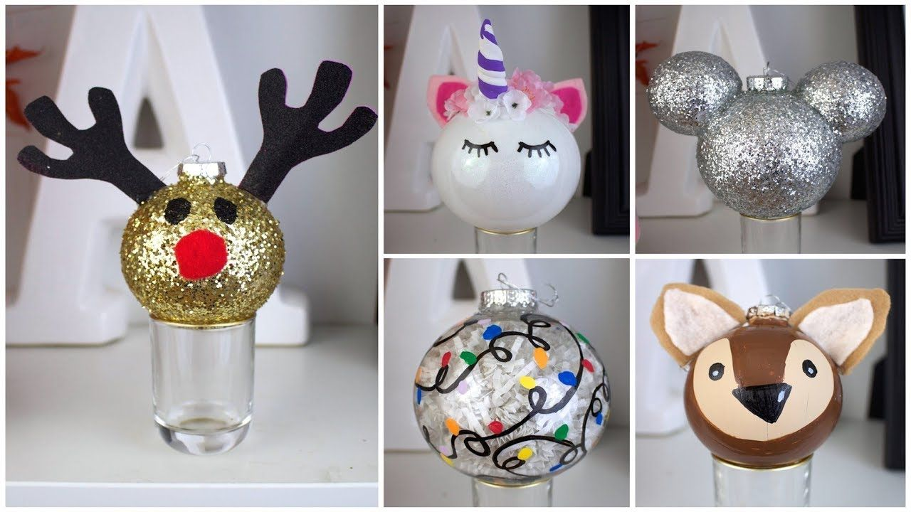 7 Cheap Easy Diy Christmas Ornaments Pinterest Inspired Youtube Diy Christmas Ornaments Cheap Christmas Diy Diy Christmas Ornaments Easy