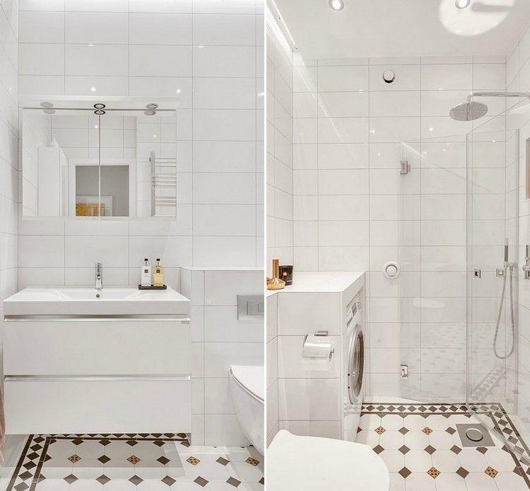 La petite salle de bains - un grand défi et un vrai plaisir Tiny - Salle De Bain Moderne Douche Italienne