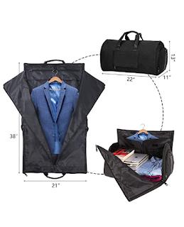 e766a75b7f Carry-on Garment Bag Suit Travel Bag Duffel Bag Weekend Bag Flight Bag Gym  Bag