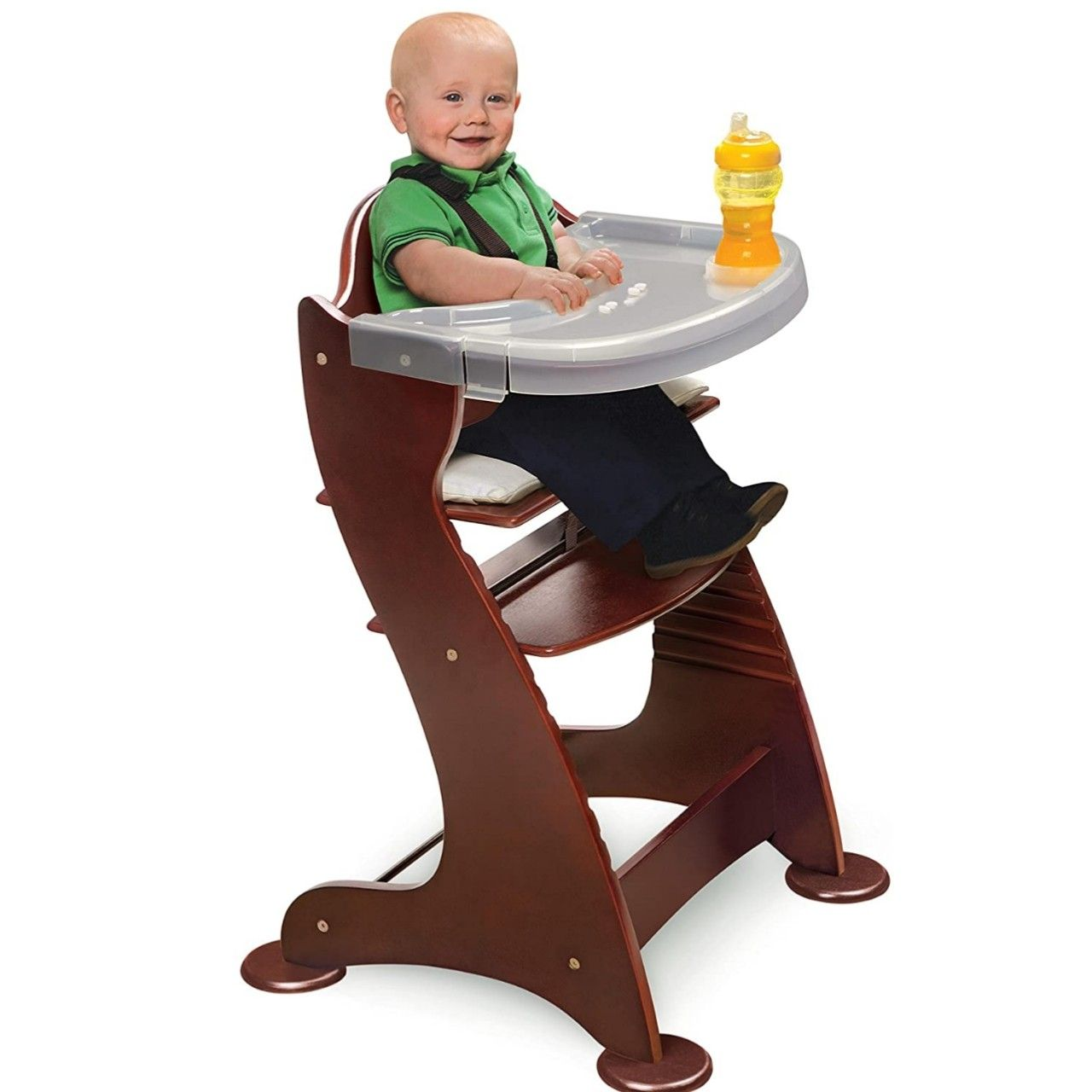 High Grade Wood Baby high chair in 9  Baby high chair, Wood