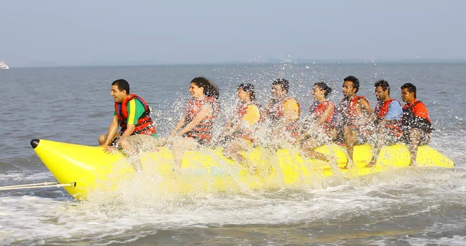 Banana Boat Ride A Fun Watersport To Enjoy With Family