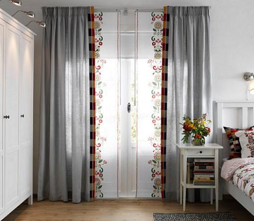 Cortinas y paneles japoneses de ikea para ventanas ideas - Cortinas exterior ikea ...