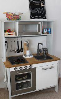 kreakind die ikea duktig spielk che in neuem gewand ikea hack duktig kitchen pinterest. Black Bedroom Furniture Sets. Home Design Ideas