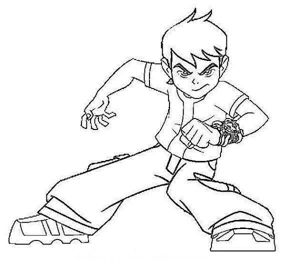 coloring pages ben 10 drawing coloring kids pinterest ben 10