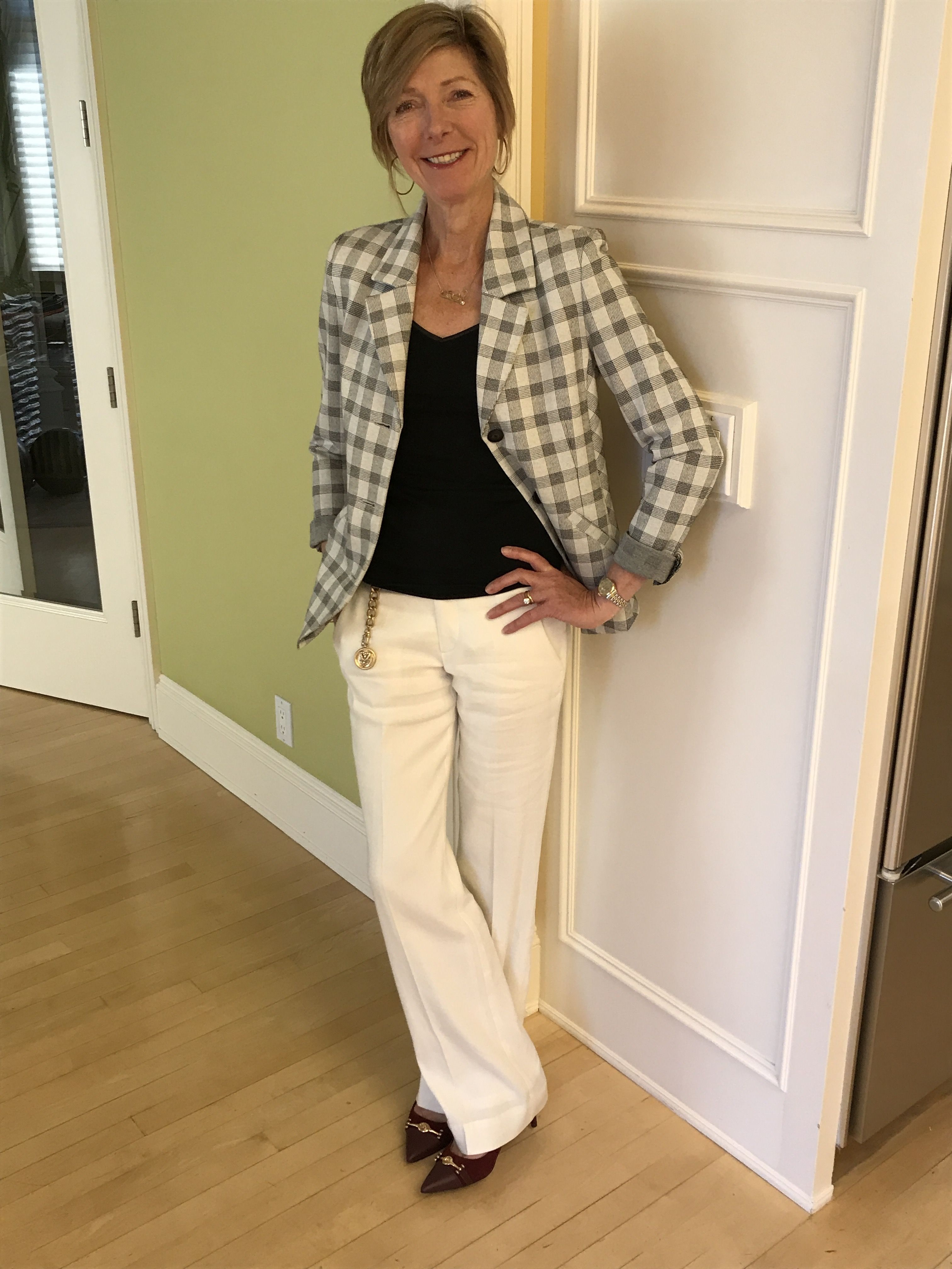 bf8bcf2ec35adc Cabi Valentina Blazer and Angel Trouser is the most comfortable outfit...  Blazer is super-stretch ponte knit and trouser is 1/2 linen 1/2 rayon  w/stretch ...