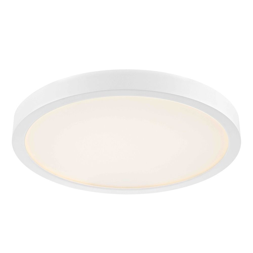 Flat Led Light Surface Mount 10 Inch Round White 2700k 1511lm In 2020 Led Flush Ceiling Lights Flush Ceiling Lights Light Fixtures