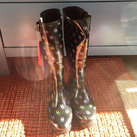 Authentic Dooney & Bourke Rain Boots Brand new with tags Dooney & Bourke Shoes Winter & Rain Boots