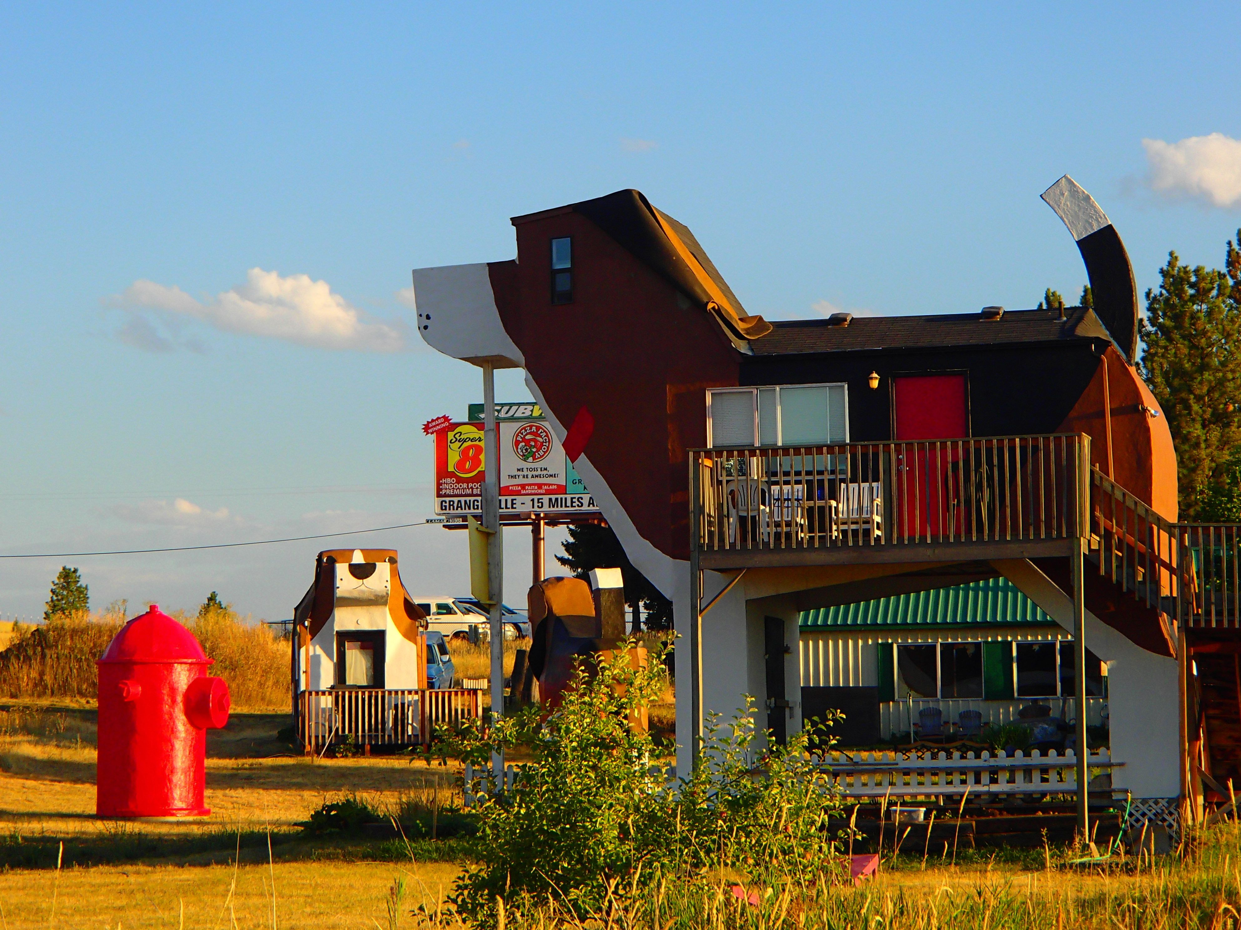 Perfect Our Date With The Big Dog: Dog Bark Park Inn [Cottonwood, Idaho] Ideas