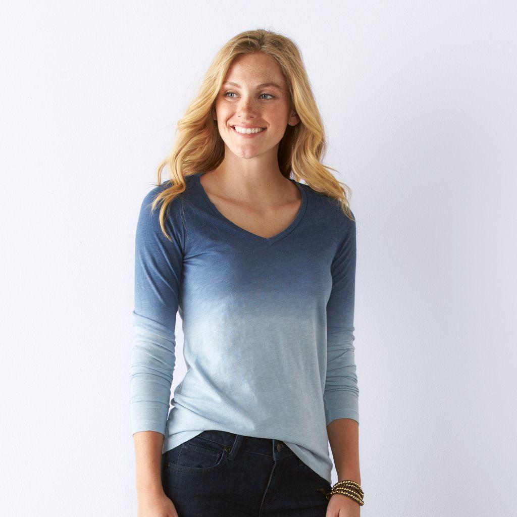 bbac2fbbaec Kohls Womens Sonoma T Shirts