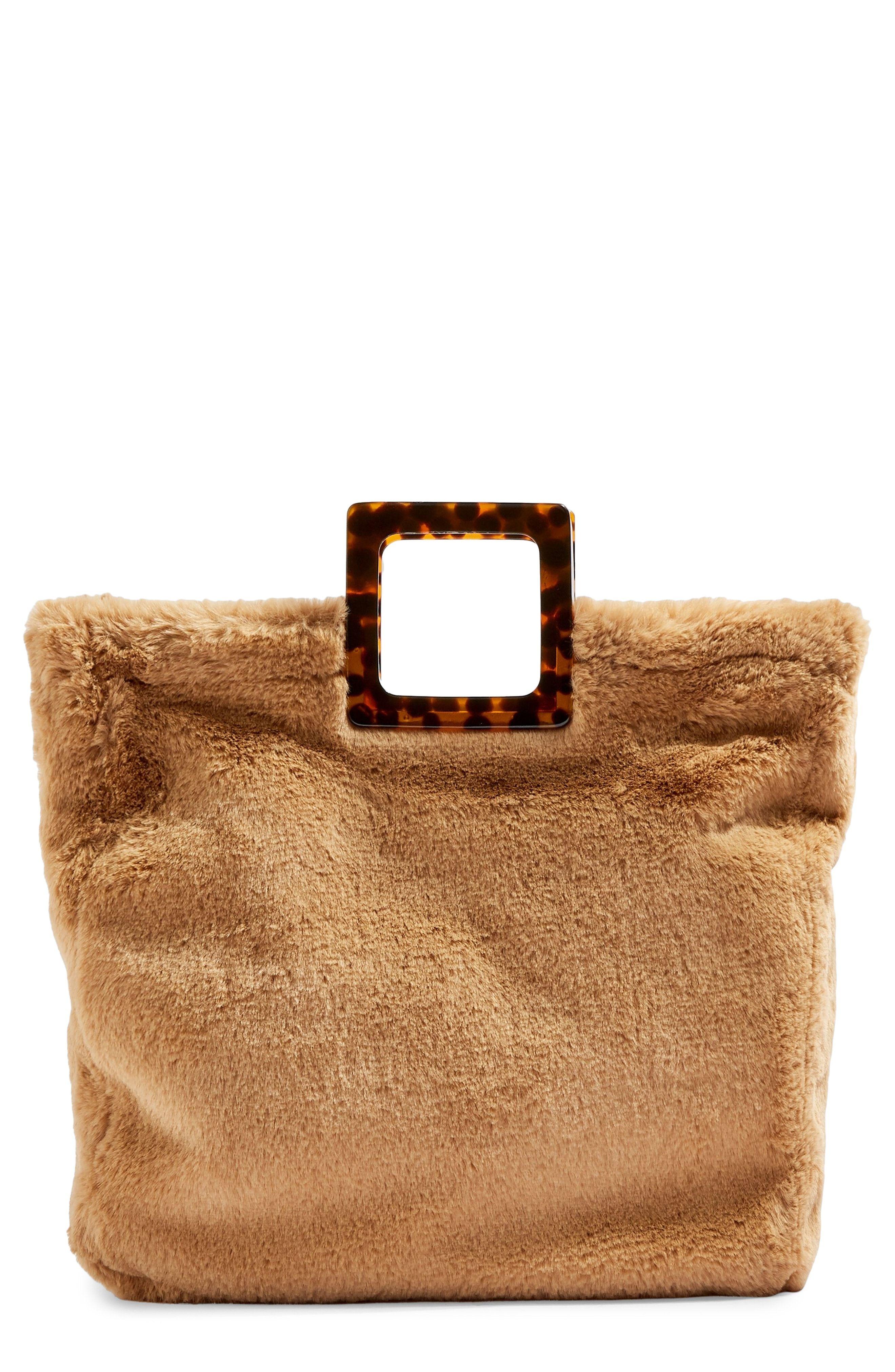 1f349683c8 Topshop Freddy Faux Fur Tote Bag
