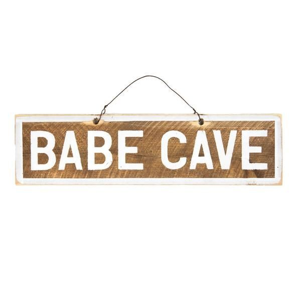 My cave, my rules Hang up this gorgeous handmade sign and let