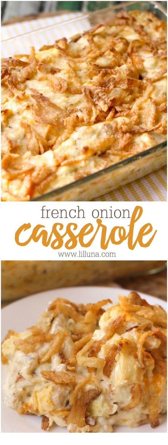 this FRENCH ONION CHICKEN CASSEROLE is so yumm!! You must see the complete recipes.