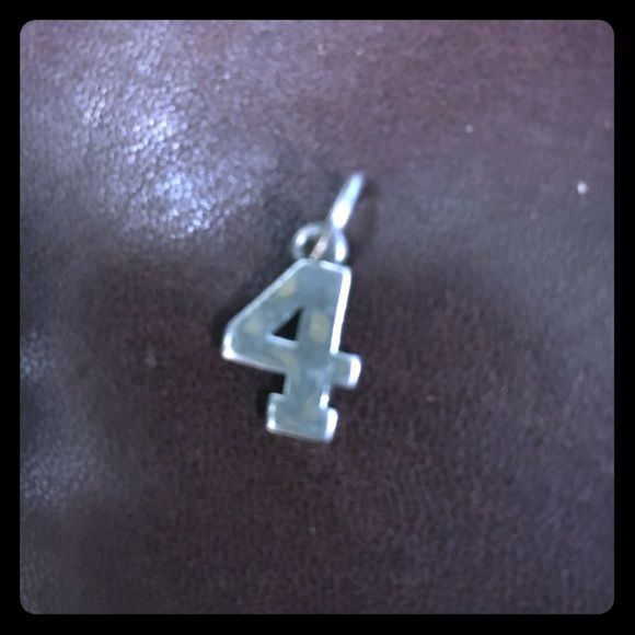 #4 James Avery charm James Avery charm James Avery Jewelry