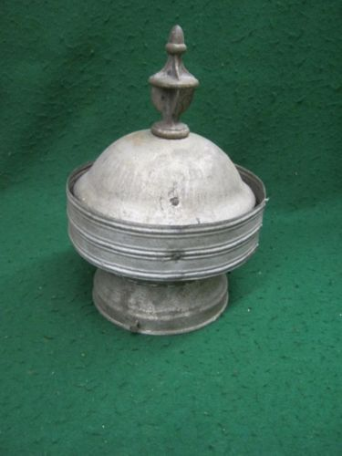 Vintage Roof Ventilator Cupola Small Shed Barn Yard Art Object Sculpture Up Cycled Discarded Items Clay Sculptures Painted Junk This