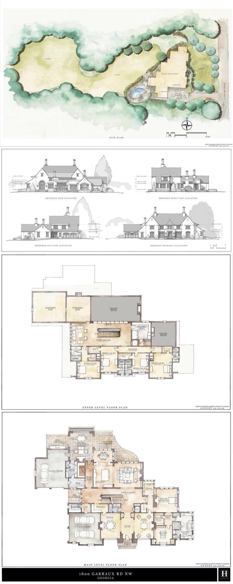 1800 Garraux Road Nw Atlanta Dorsey Alston How To Plan Luxury Plan School Floor Plan