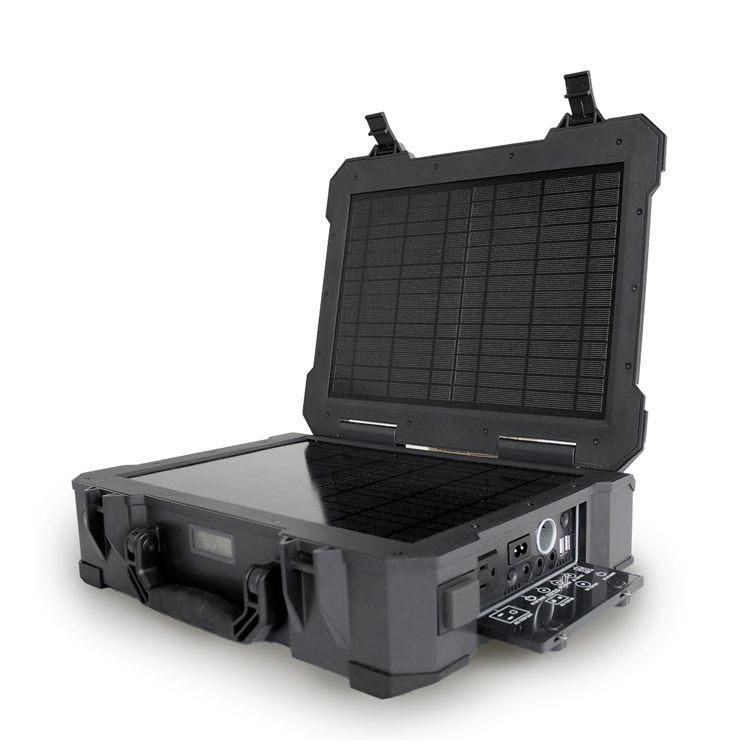 The Phoenix Portable Solar Generator With Built In 20w Solar Panel Solar Power Kits Best Solar Panels Solar Generator