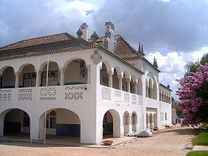 Casa dos Patudos - arquitetura,pintura, escultura e artes decorativas ( azulejaria, porcelanas, mobiliário, texteis). Santarém